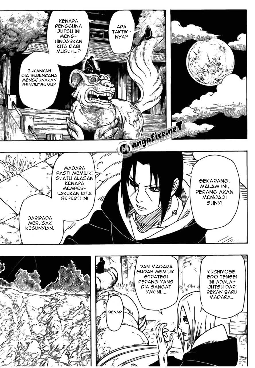 NARUTO CHAPTER 540 : TAKTIK MADARA